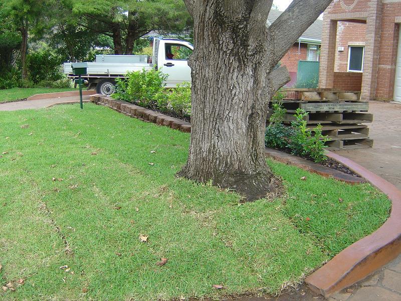Landscaping edging